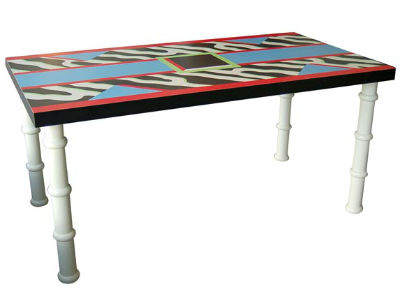 madras table by nathalie du pasquier