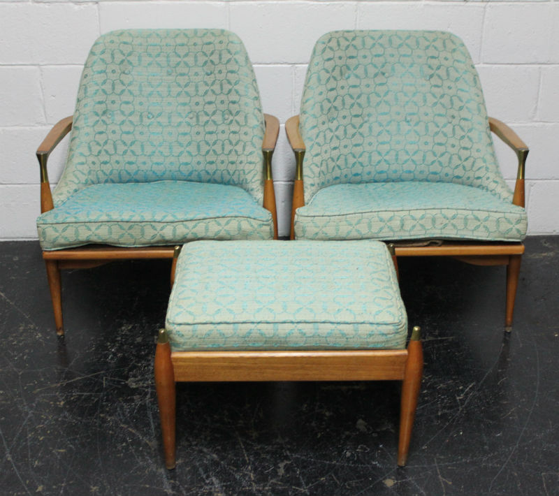 Phillips MCM chairs and ottoman before (11) blog