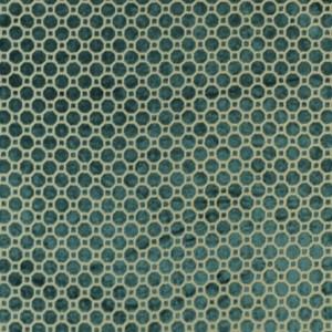 Robert Allen Velvet Geo in Turquoise
