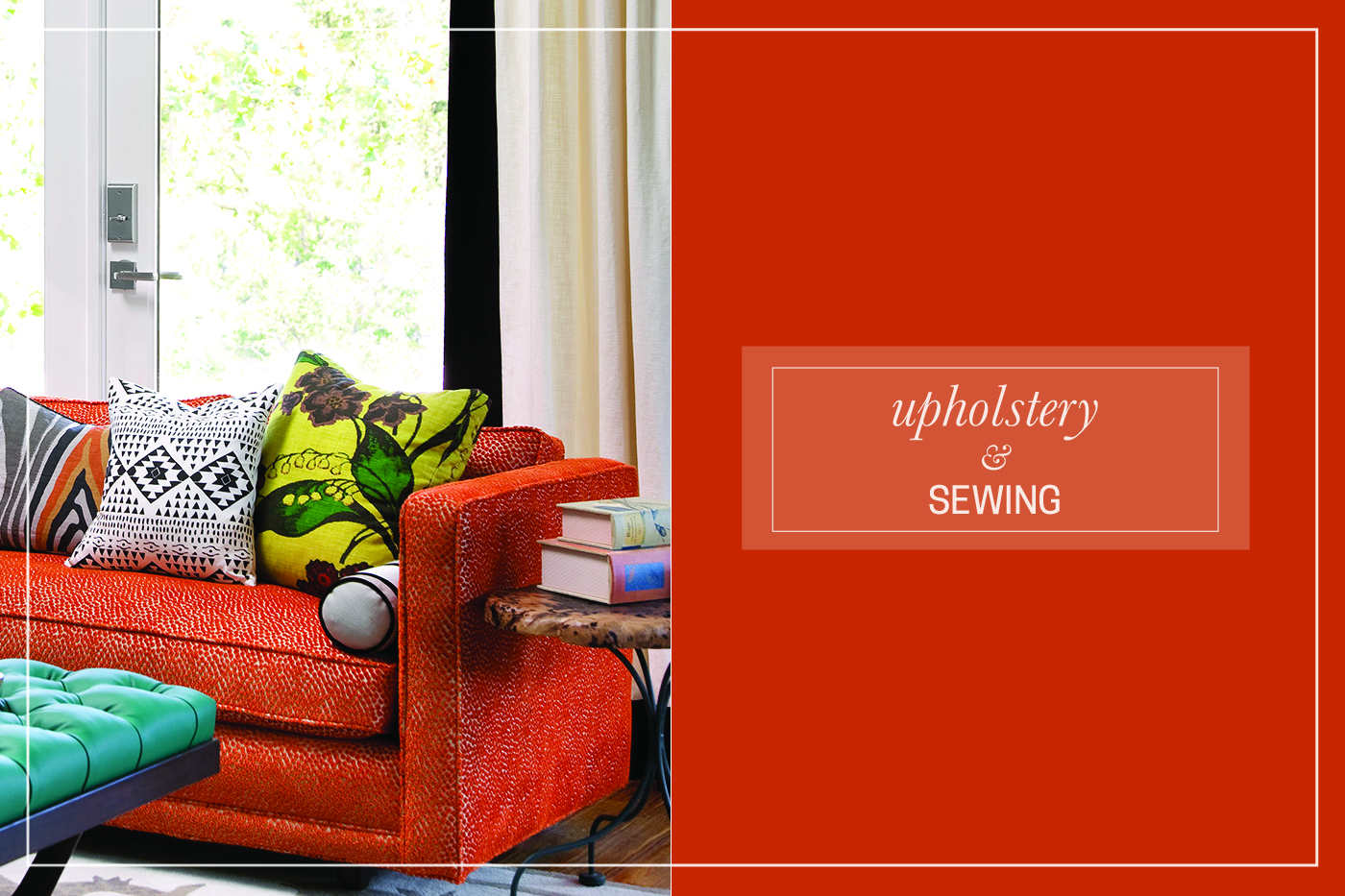 Upholstery & Sewing