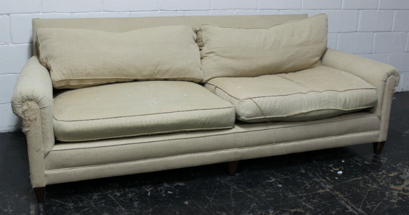 Wright sofa before blog