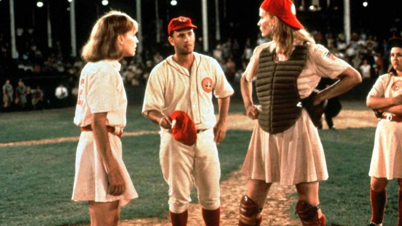 A League of Their Own. Photo courtesy of Chris and Elizabeth Watch Movies.