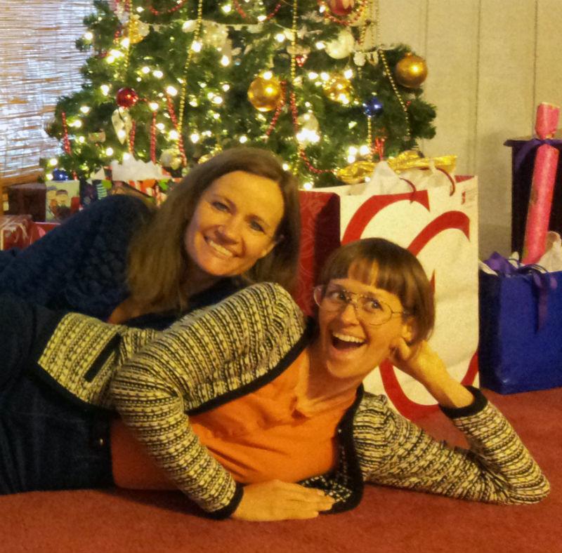 clar and mom sandy