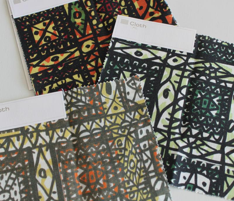 cloth mosaic
