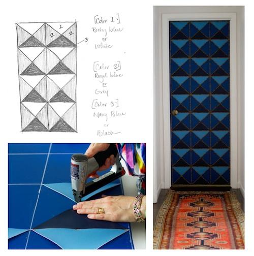nailhead upholstered door