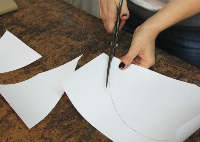 cut shape from styrene