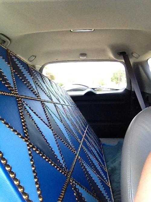 door in car