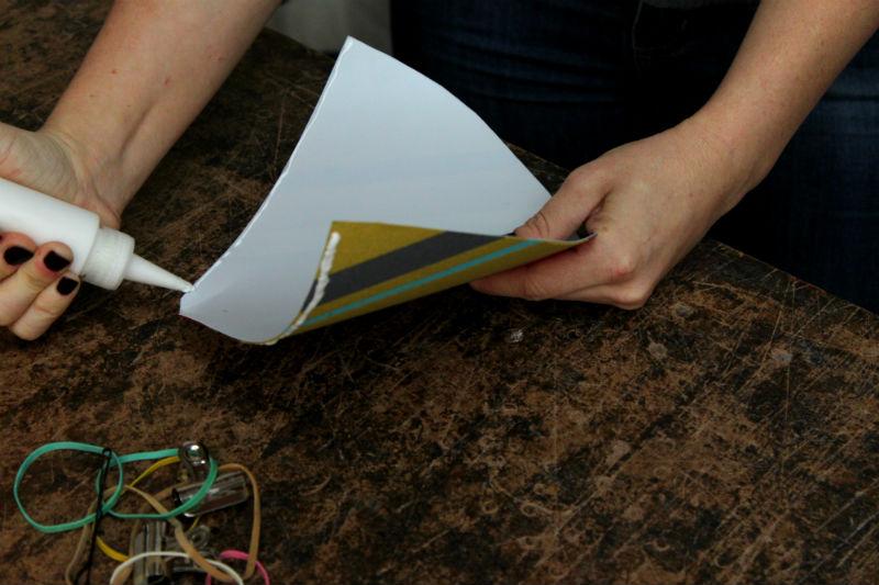 glue seam along the styrene side