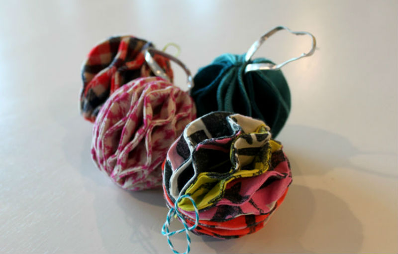 honeycomb ornaments