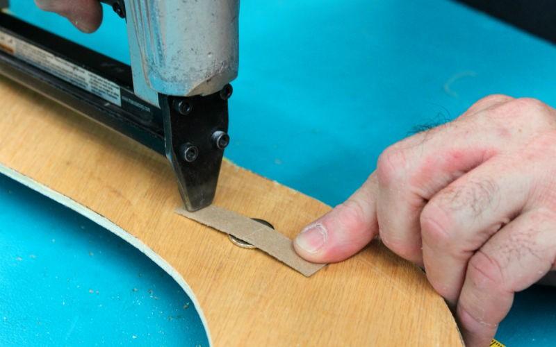 panel tip cardboard tack strip