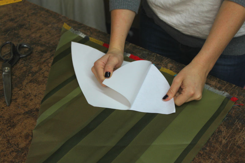remove paper from sticky side