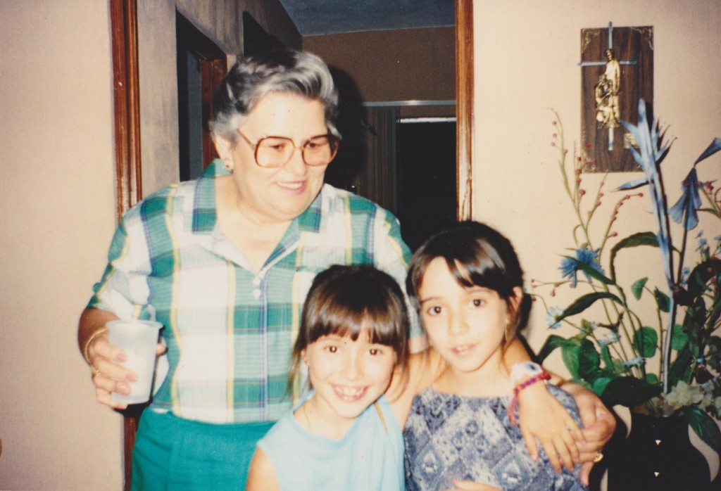 sister, grandma and I