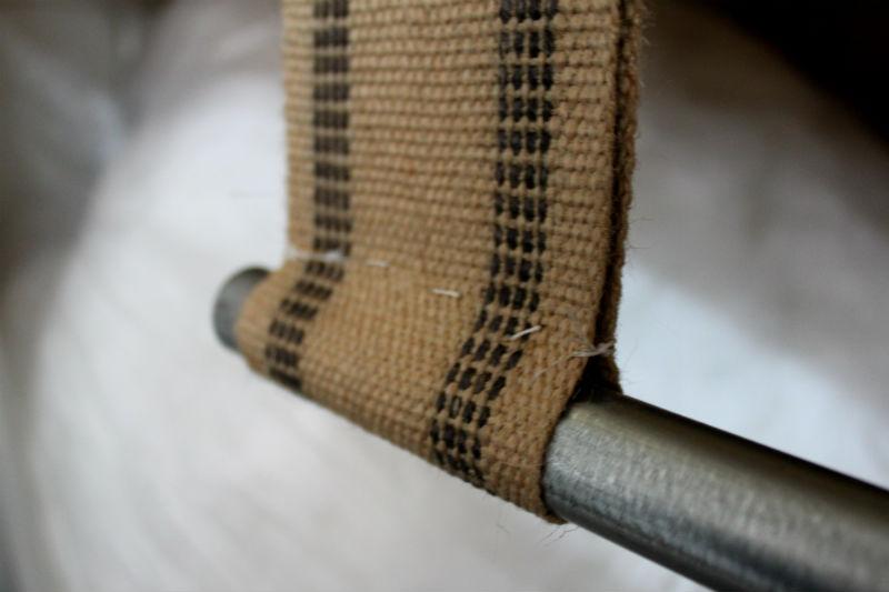 stitched webbing