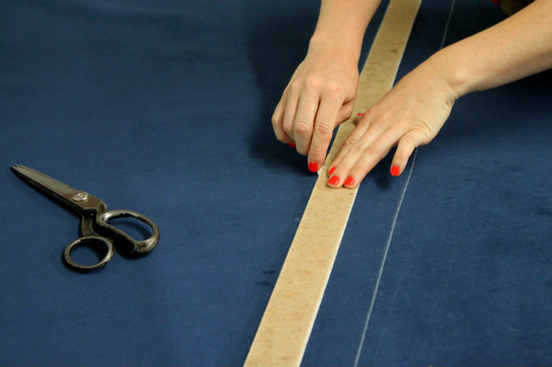 trace double welt cord
