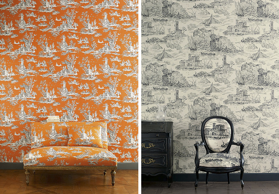 Trianon Wallpaper from Manuel Canovas